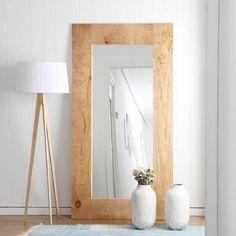 - Best ideas for decoration and makeup - Mirror Decor Living Room, Diy Bedroom Decor, Home Decor, Big Mirror In Bedroom, Hallway Ideas Entrance Narrow, Narrow Hallways, Entryway Ideas, Diy Mirror, Home Room Design