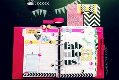 week29 Filofax planning pages Heidi Swapp