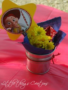 """Photo 1 of 12: Cowboy/Cowgirl, Toy Story, Woody and Jessie / Birthday """"Cowboy and Cowgirl Birthday Party""""   Catch My Party"""