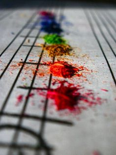 Rainbow Music Notes and Pantone Powder Music Love, Music Is Life, My Music, Music Notes Art, Color Music, Sound Music, Music Stuff, Pub Radio, Macro Photography