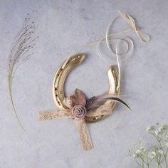 Gold Camille Lucky Wedding Horseshoe