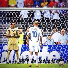 Zidane and Buffon 2006 World Cup