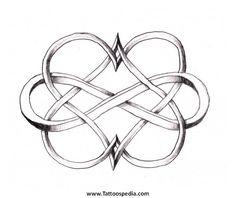 interlocking heart tattoo - Google Search