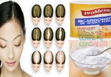 Remedio casero para la caída del cabello con bicarbonato