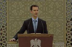 Assad dispuesto a negociar; promete recuperar Siria