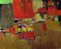"Saatchi Art Artist Brenda Buffett; Painting, ""Hermitage Cafe"" #art"