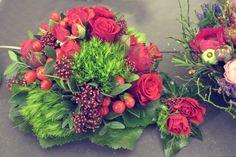 Brautstrauß rote Rosen auf der TrauDich! 2016 in Stuttgart