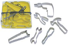 Building Tools Cookie Cutter set of 6 Hammer, Saw, Pliers, Wrench, Screwdriver and  drill on Etsy, $12.95