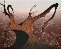 Brown Tree - Eyvind Earle