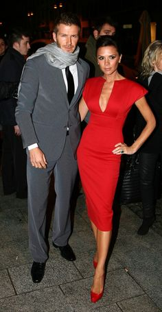 Posh in All-Red Victoria Beckham Collection: Love It or Hate It?