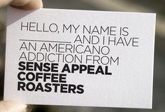 Sense Appeal Coffee Identity