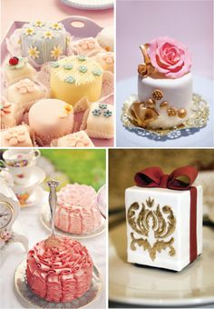 {Wedding Trends} : Mini Cakes - Belle the Magazine . The Wedding Blog For The Sophisticated Bride