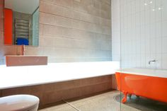 Coopers Beach House | Dorrington Architects & Associates. Pop of colour for those bolder than grey loving me!