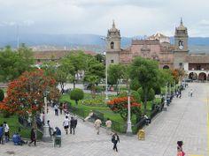 plaza de armas ayacucho