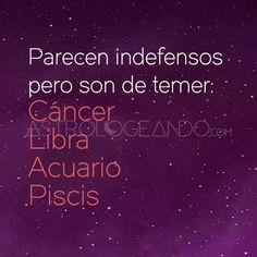 #Cáncer #Libra #Acuario #Piscis #Astrología #Zodiaco #Astrologeando astrologeando.com