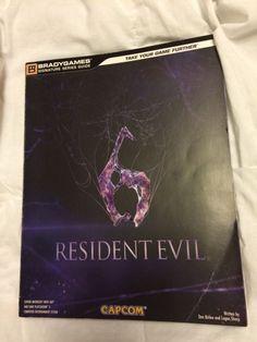 BRADY GAMES-CAPCOM RESIDENT EVIL 6 STRATEGY GUIDE FOR THE PS3 !!!!!!!!!!!!!!!!!! - http://video-games.goshoppins.com/video-game-strategy-guides-cheats/brady-games-capcom-resident-evil-6-strategy-guide-for-the-ps3/