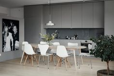 Scandinavian kitchen in Stockholm. Eames. Hammarby Allé 55B | Fantastic Frank