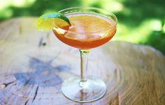 The Kingston — 1 1/2 oz Jamaican rum - 3/4 oz gin - 1/2-3/4 oz Lime juice - 1/4 oz grenadine - shake and strain into a chilled cocktail glass and garnish with a lime wedge