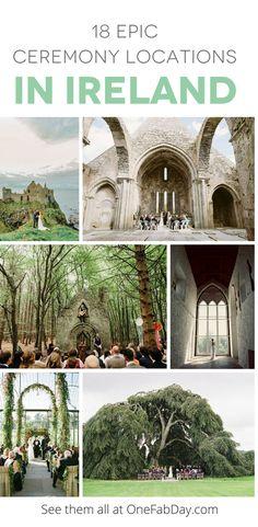 Epic Ceremony Locations in Ireland