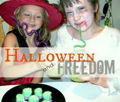 Halloween and Freedom | Two Kids Cooking and More