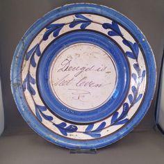 Spreukenbord Friesland,ca. 1800