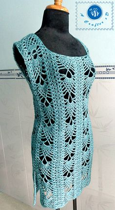 Ravelry: Pineapple Tunic pattern by Maz Kwok