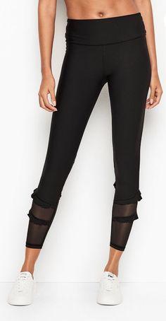 4d211d27f8d92 7 8 Ruffle High Rise Tight  leggings  50 on sale!  victoriasecret
