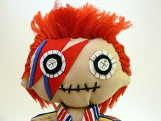 David bowie doll  Hey, I found this really awesome Etsy listing at https://www.etsy.com/listing/244172164/david-fabien-handmade-doll-of-david