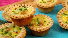Though you may have a touch of filling left over, resist the urge to overfill these mini-tarts, or they may stick to the foil cups.