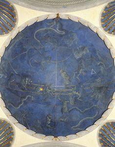 "Giuliano d'Arrigo, known as ""il Pesello"". Northern hemisphere, Florence, San Lorenzo, Old Sacristy, 1442-1446"