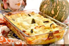 Lasagne d'autunno con zucca e salsiccia Apple Pie, Desserts, Recipes, Food, Food Cakes, Lasagna, Vegane Rezepte, Meat, Thanks