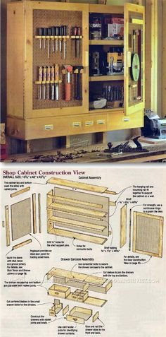Workshop Storage Cabinet Plans - Workshop Solutions Plans, Tips and Tricks | WoodArchivist.com