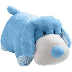 Pillow Pets My First Puppy Plush Chenille Throw Pillow Color: Blue Coral Throw Pillows, Buy Pillows, Winnie The Pooh Plush, Happy Puppy, Animal Pillows, Pet Puppy, Pillow Pets, Dinosaur Stuffed Animal, Stuffed Animals