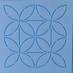 Sashiko Stencil