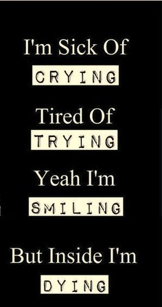 - From my HoMe Trauriges Leben ! - From my HoMe Trauriges Leben ! Dark Love Quotes, Cute Quotes, Funny Quotes, To The Bone Quotes, Life Is Tough Quotes, Im Fine Quotes, Sad Sayings, Fake Smile Quotes, Qoutes