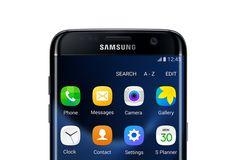 App icons on galaxy s7 edge screen