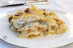 LASAGNE AI GAMBERI Walleye Fish Recipes, Paleo Fish Recipes, Cooking Recipes, Healthy Recipes, Healthy Food, Quick Appetizers, Appetizer Recipes, Fish Dishes, Seafood Dishes