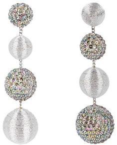 REBECCA DE RAVENEL Les Bonbons Starlight earrings