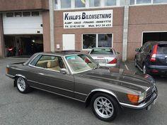 Mercedes-Benz SL 350 SLC AUTOMAT LUKE LAV KM VELHOLD 1972,
