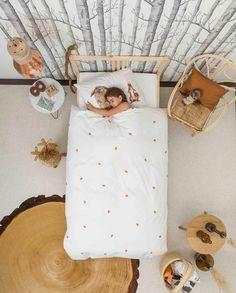 Snurk kids bedding Furry Friends forest themed bedding for children