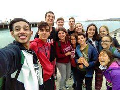 Selfie grupal. Programa Saint Louis High School  #Dublín  #WeLoveBS #Inglés #idiomas #Colonias  #Colonies #Campamento #Camp #Niños #Jóvenes #adolescentes #summer #young #teenagers #boys #girls #city #english  #awesome #Verano #friends #group #anglès #cursos #viaje #travel #Ireland #Irlanda #Girona #Salt