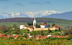Fortified Church in Ilieni - Transylvania