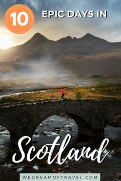 Looking for the ultimate Scotland road trip itinerary? This guide to 10 days in Scotland will have you exploring lochs, isles, castles, cities, and culture. Everything you need to know to help you plan your Scotland travels, including when to visit, how to travel, and what to see in Scotland. Scotland Travel | Scotland Road Trip | Scotland Itinerary | Things to See in Scotland | What to See in Scotland | Scotland Highlands | Best Things to Do in Scotland | Scotland Travel Guide