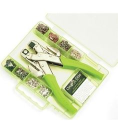 Crop-A-Dile Eyelet & Punch Kit - Lime : scrapbooking tools : scrapbooking :  Shop | Joann.com