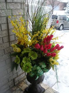 42 best spring urns images on pinterest spring flowers urn and spring urn for your home or office mightylinksfo