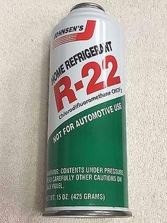 Refrigerant, R-22, 15 oz. Can  R-22, Air Conditioning Gas R22 can Johnsen's R22