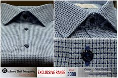 Choose your Weave, Fit,  Style   and start customizing your own dress shirt at LSC.  Lahore Shirt Company offers delicately hand crafted self embossed patterns for your custom dress shirts.