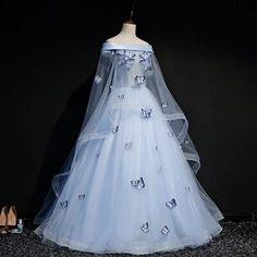 Smarter Shopping, Better Living!  Aliexpress.com Renaissance Dresses, Medieval Dress, Pretty Prom Dresses, Blue Evening Dresses, Fantasy Gowns, Ball Gown Dresses, Ball Gowns Prom, Pageant Dresses, 15 Dresses