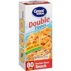 Portion-Control snack bags (Walmart)