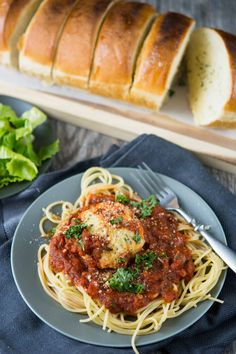 Thoughts on family time (hint, involves food!) plus a delicious mozzarella stuffed chicken meatballs recipe you can make in your slow cooker!!  #sponsored Don't forget the delicious tomato basil sauce! Your family will gobble this up!